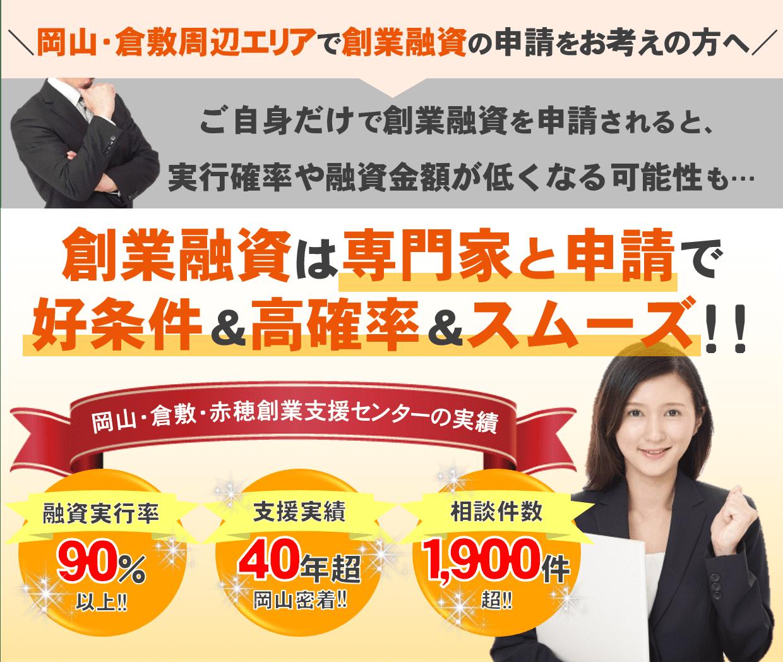 岡山で創業融資の申請サポート